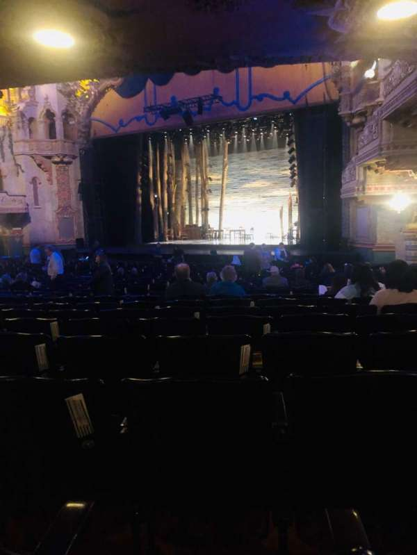 Majestic Theatre - San Antonio, section: Orchestra R, row: Z, seat: 24