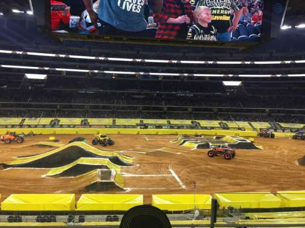 AT&T Stadium, section: C210, row: 3, seat: 35