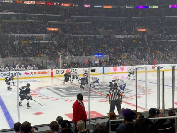 Staples Center, section: 112, row: 11, seat: 5
