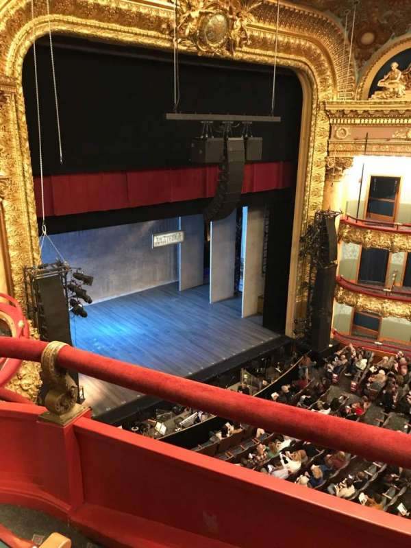 Emerson Colonial Theatre, section: Balcony L, row: B, seat: 29
