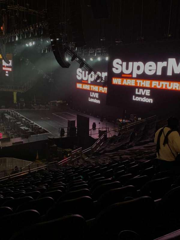 The O2 Arena, section: 112, row: z, seat: 382