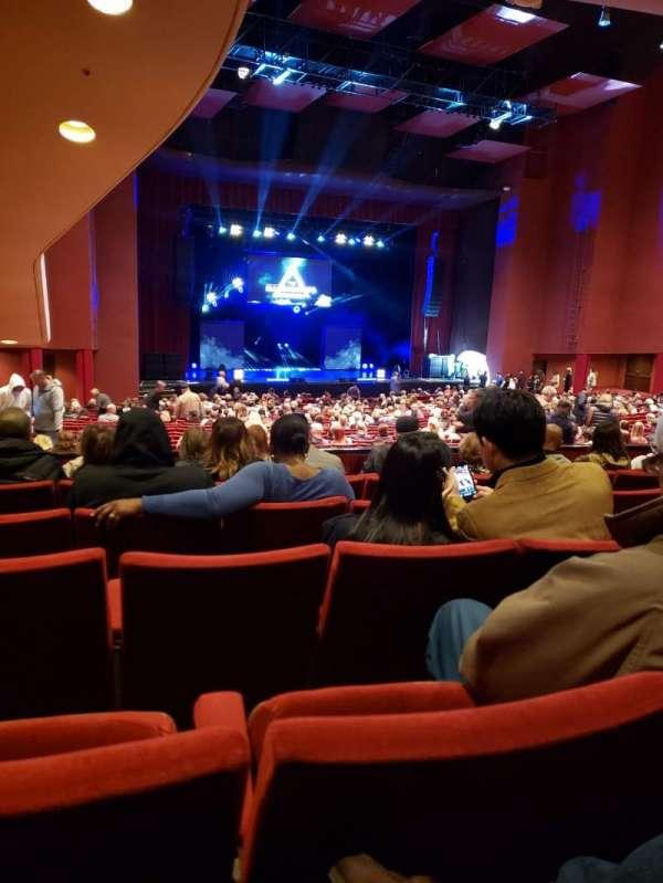 San Diego Civic Theatre, section: Dress Circle L, row: F, seat: 49