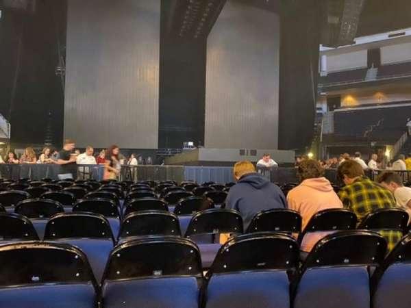 Infinite Energy Arena, section: Floor 2, row: L, seat: 6