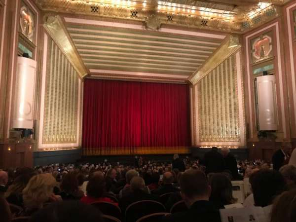 Lyric Opera House, section: Main Flr, row: HH, seat: 10