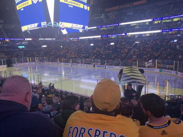 Bridgestone Arena, section: 118, row: H, seat: 6