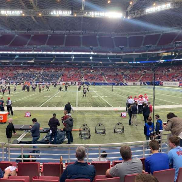 The Dome at America's Center, section: 112, row: F, seat: 6
