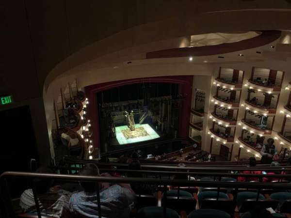 Ziff Ballet Opera House at the Arsht Center, section: 4 Tier, row: G, seat: 21