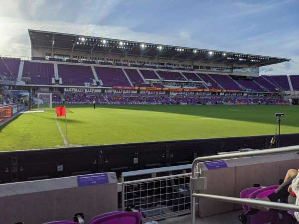 Exploria Stadium, section: 1, row: D, seat: 2