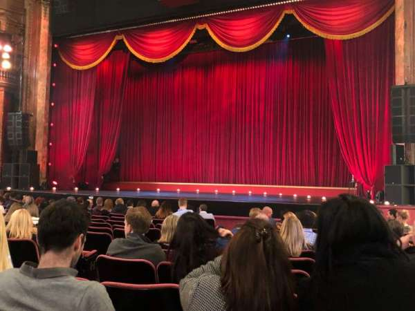 The London Palladium, section: Stalls, row: N, seat: 12