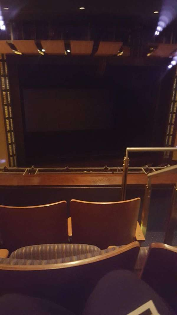 The Kennedy Center Eisenhower Theater, section: Balcony, row: C, seat: 3
