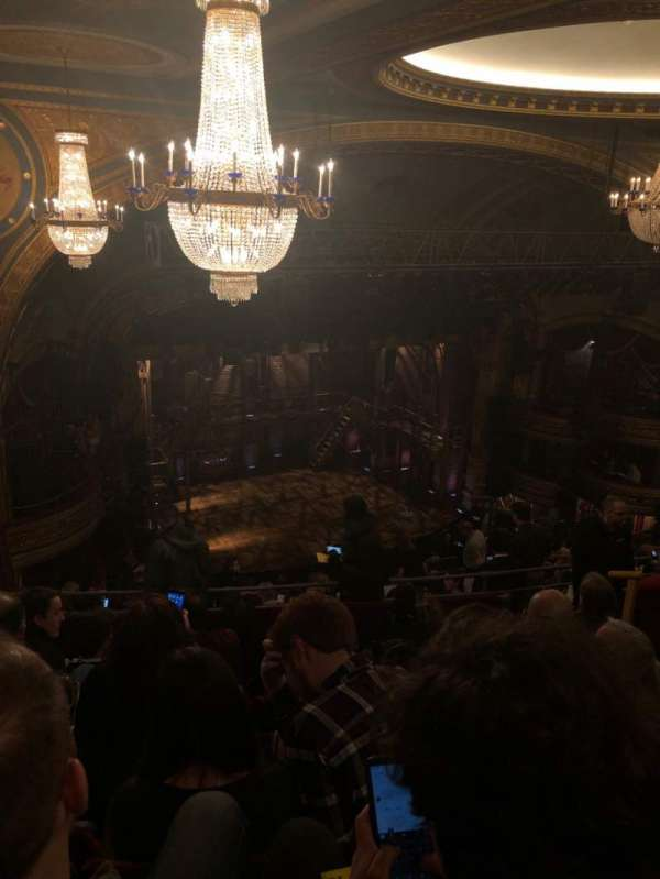 Richard Rodgers Theatre, section: Rear Mezzanine L, row: M, seat: 27