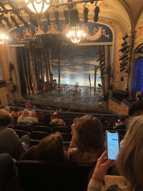 Gerald Schoenfeld Theatre, section: Mezzanine R, row: K, seat: 16