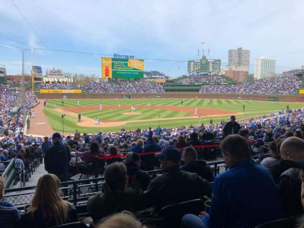 Wrigley Field, section: 220, row: 5, seat: 16