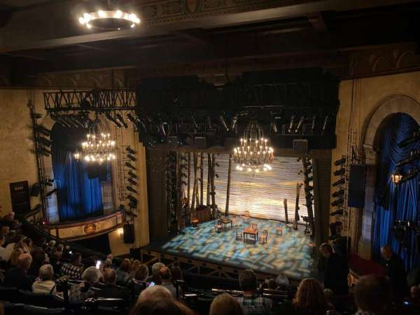 Comedy Theatre, section: Dress Circle, row: J, seat: 33