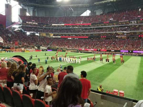 Mercedes-Benz Stadium, section: C126, row: 6, seat: 21