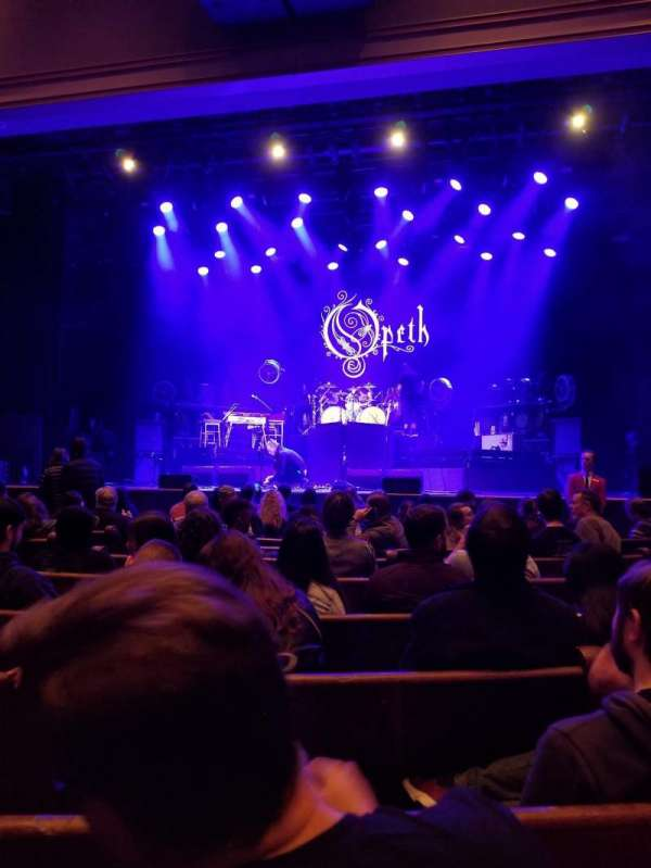 Ryman Auditorium, section: MF-3, row: K, seat: 11C