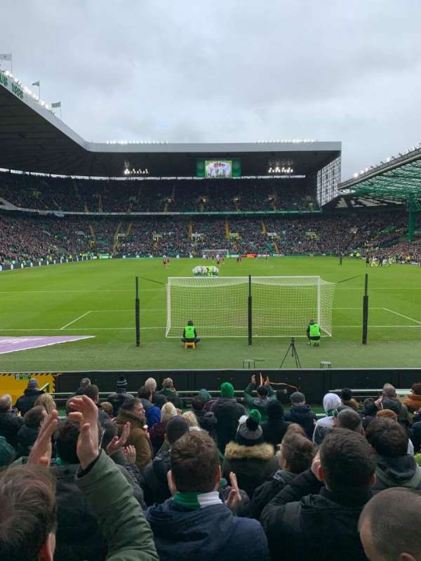 Celtic Park, section: 140, row: K, seat: 5