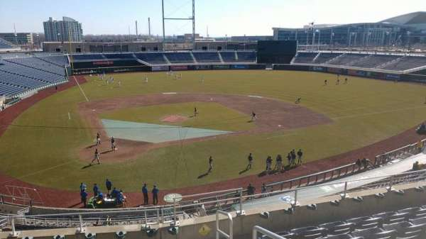 TD Ameritrade Park , section: 210, row: 6, seat: 1