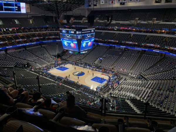 American Airlines Center, section: 306, row: J, seat: 10
