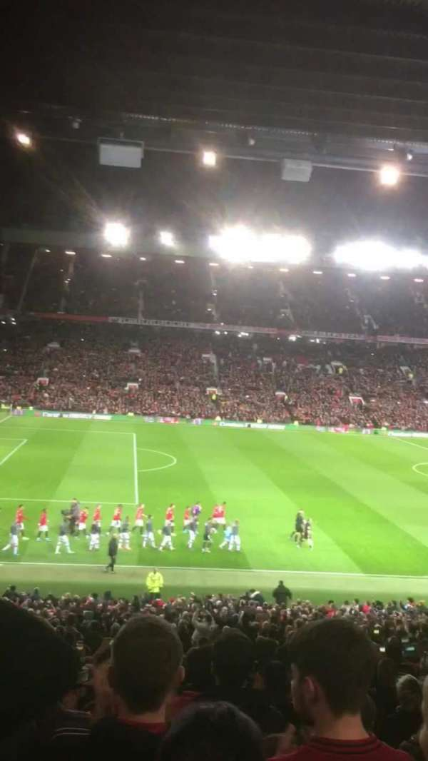Old Trafford, section: STH122, row: 32, seat: 109