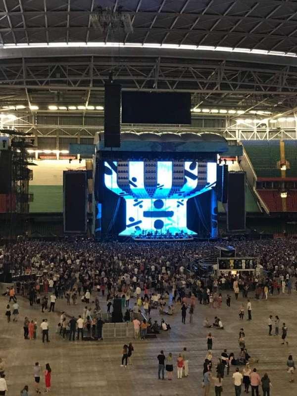 Principality Stadium, section: M21, row: 13, seat: 11