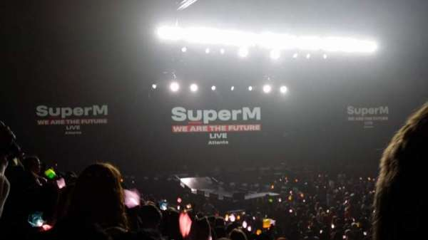 Infinite Energy Arena, section: 119, row: k