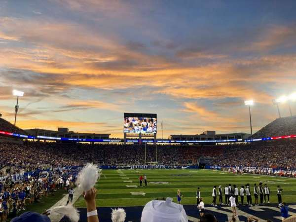 Kroger Field, section: Student