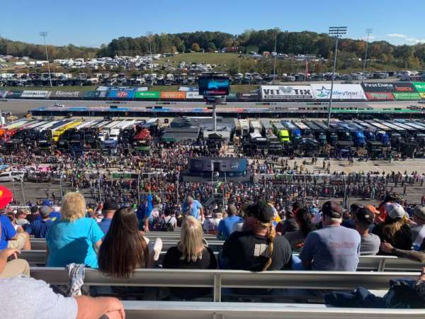 Martinsville Speedway, section: Blue Ridge Tower, Section J , row: 45, seat: 17