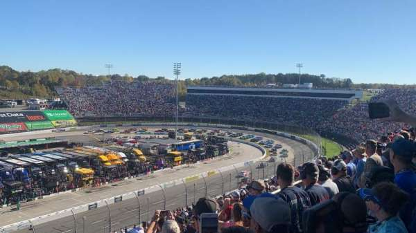 Martinsville Speedway, section: Blue Ridge Tower, Section J, row: 45, seat: 17