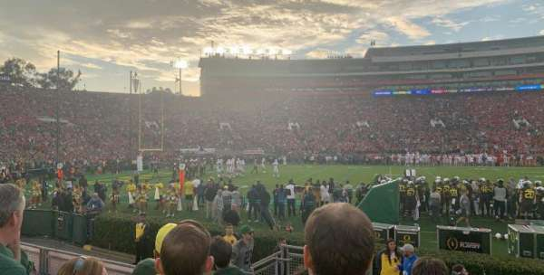 Rose Bowl, section: 3-H, row: 5, seat: 105