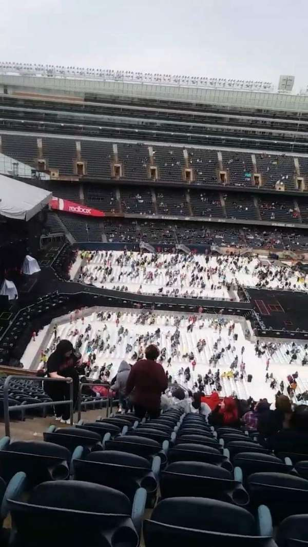 Soldier Field, section: 440, row: 23, seat: 3