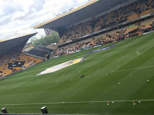 Molineux Stadium, section: J1, row: B, seat: 20