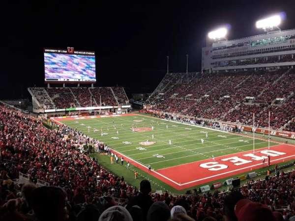 Rice-Eccles Stadium, section: N27, row: 54, seat: 7