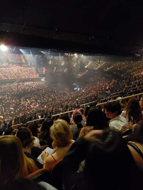 The Forum, section: 205, row: 18, seat: 11