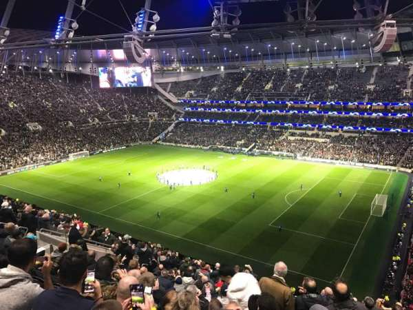 Tottenham Hotspur Stadium, section: 521, row: 18, seat: 74