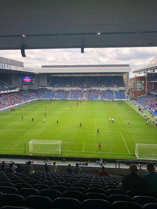 Ibrox Stadium, section: BR2, row: S, seat: 57