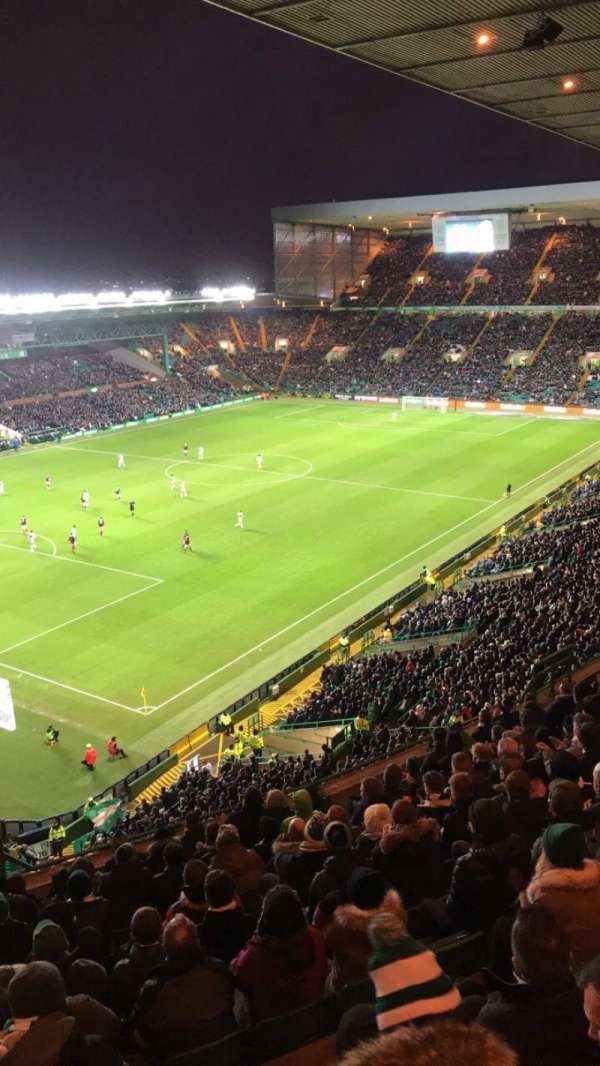 celtic park, section: 412, row: M, seat: 11