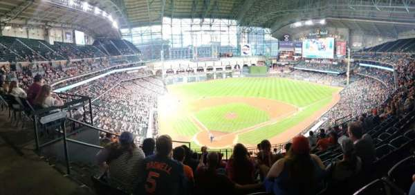 Minute Maid Park, section: 321, row: 8, seat: 1