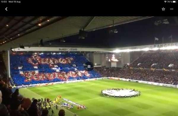 Ibrox Stadium, section: CD1, row: J, seat: 39