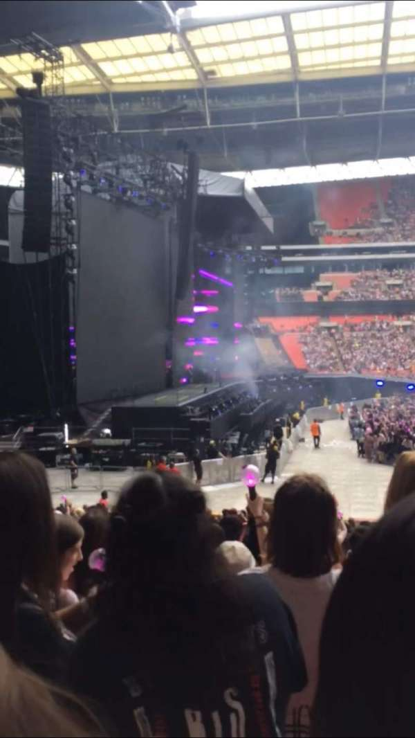 Wembley Stadium, section: 126, row: 25, seat: 90