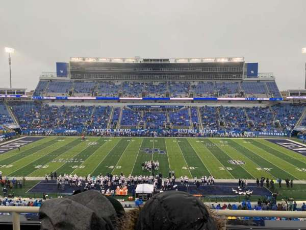 Kroger Field, section: 206, row: 3, seat: 17