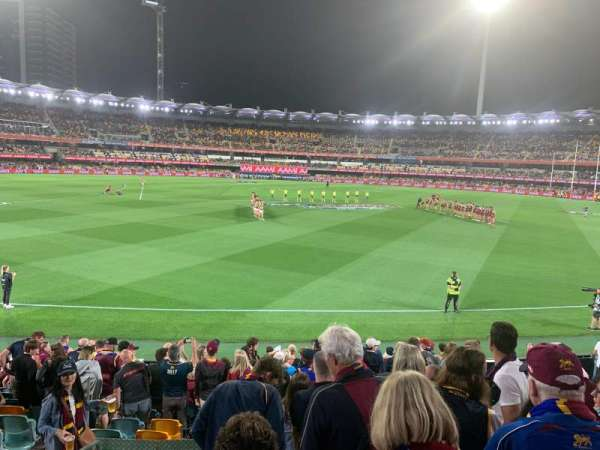 The Gabba, section: 8, row: Q, seat: 271