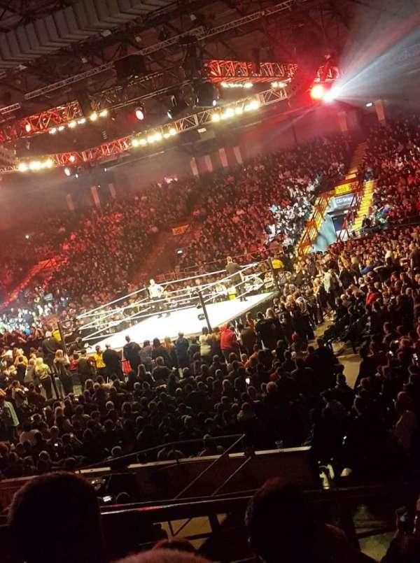 Utilita Arena, section: 214, row: P, seat: 335