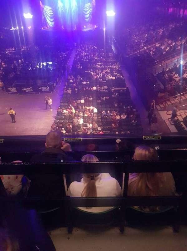 Utilita Arena, section: 300, row: D, seat: 18