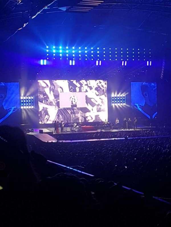 Utilita Arena, section: 214, row: M, seat: 319