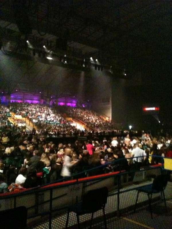 Utilita Arena, section: 103, row: E, seat: 96