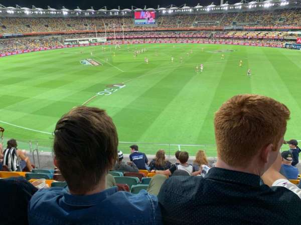 The Gabba, section: 77, row: HH, seat: 8-11