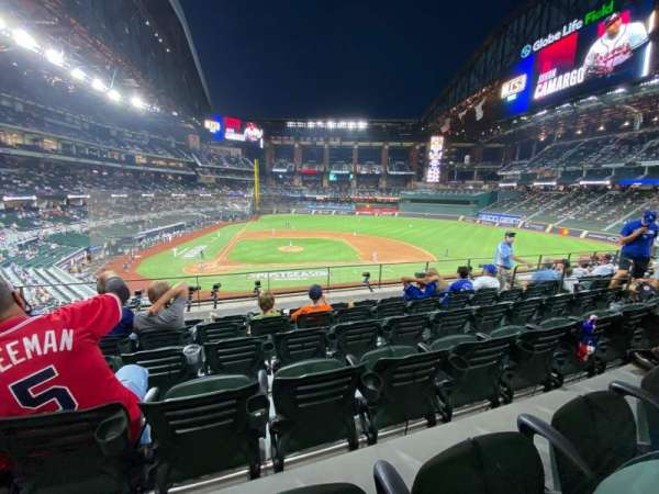Globe Life Field, section: 118, row: 6, seat: 11