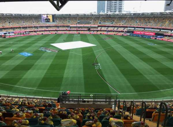 The Gabba, section: 40, row: VV, seat: 87