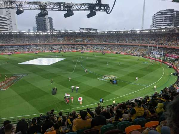 The Gabba, section: 64, row: 44, seat: 358
